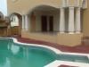 Terrasse en bord de piscine