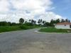 Routes asphaltees dans tout le projet