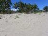 Vue terrain depuis la plage