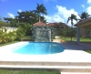 Vista della splendida piscina