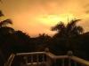 Vista del tramonto dalla terrazza superiore