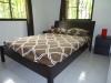 Camera da letto matrimoniale villa in residence fronte mare a Sosua