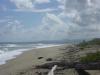 Zicht op Oostelijk strand