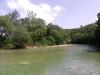 Land zuidkant rivier