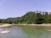 Land noordzijde rivier