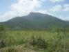 Zicht op berg Puerto Plata