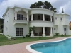Achterkant villa