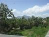 Zicht op berg van Puerto Plata