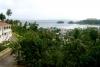 Zicht op haven van Samana
