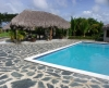 Relax zone aan zwembad