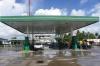 Algemeen zicht benzinestation