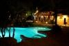 Verlicht zwembad