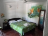 Kamer met muurschildering