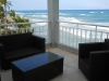 Balkon met oceaanzicht