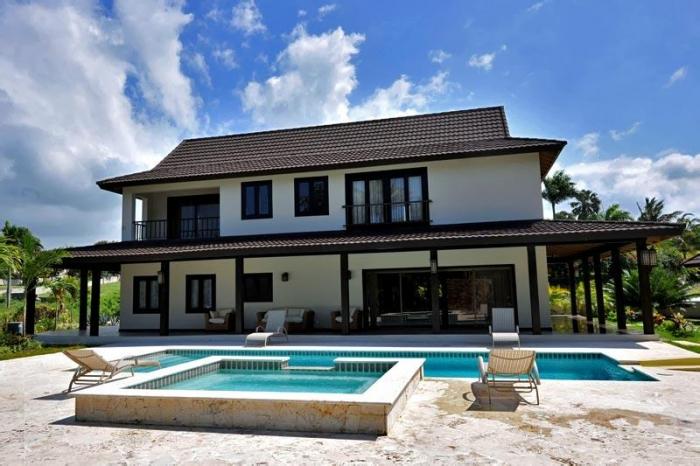 Villa View From The Pool Luxury Villa For Sale Dominican Republic ...